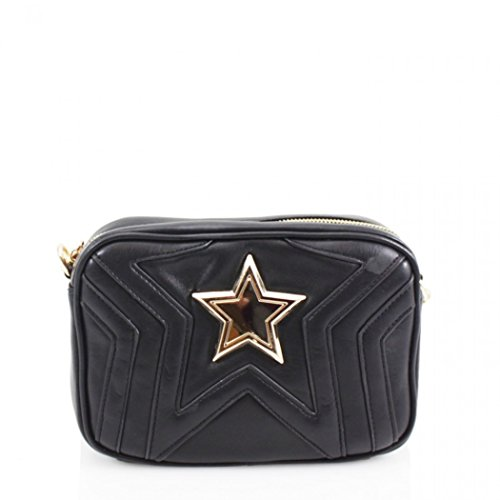 Women's Bags Cross Handbags Chain Shoulder Bag Body Star 17 LeahWard Black 6n1qd6