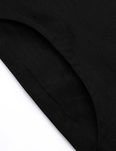 Jacket Veste Trench Djt Zipped capuche Manteau Noir Rayures A Coat Femme YqY5rXw