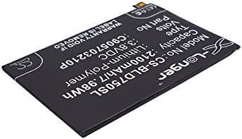 Battery Replacement for BLU D750L D750U Studio X Record
