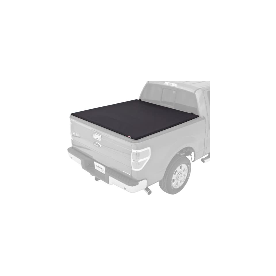 Lund 95872 Black Pearl Tri Fold Tonneau Cover for Select Ford Models