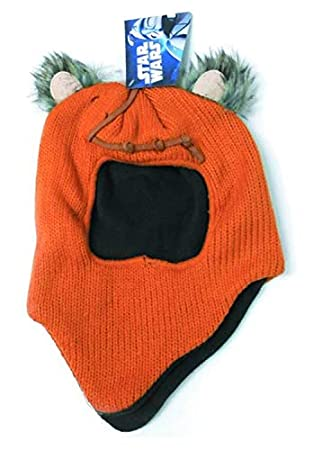 c9597a7b1a5 Beanie Cap - Star Wars - Ewok Wicket Fleece Hat Anime Toys Gifts   Amazon.co.uk  Toys   Games