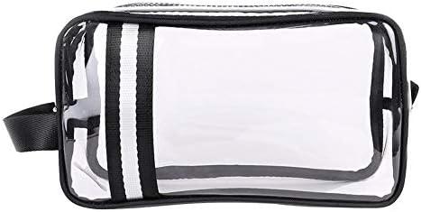 f04bac5a3646 Jocestyle Stripe PVC Makeup Bags Waterproof Travel Storage Wash ...