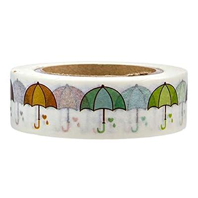 Umbrella Design Washi Tape by Foshan Manzawa