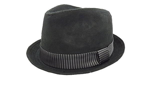 Mens Henschel Fedora Suede Hat