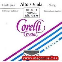 CUERDA VIOLA - Savarez (Corelli Crystal 732M) (Aluminio)