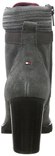 Tommy Hilfiger Women's I1285sabella 18b Biker Boots Grey (Magnet) TigmqI3