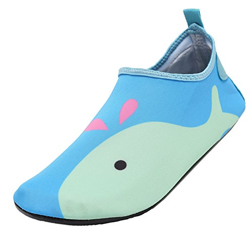 CIOR Men Women and Kids Water Shoes Barefoot Skin Shoes Anti-Slip For Beach Pool Surf Swim Exercise Sneaker H.green01 HFikszpy