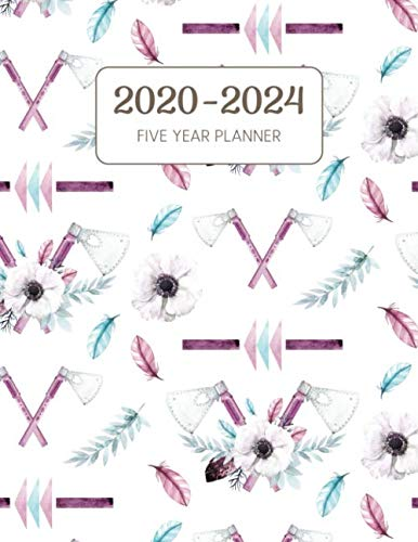 2020-2024 Five Year Planner: Monthly Agenda & Schedule with US Holidays - 60 Months or 5 Years - Woodcutter's Wife (Appointment Diary With Todo List & Notes)
