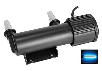 Lámpara esterilizadora UV C, CUV 207 - Esterilizador germicida para acuario de agua dulce y marino o estanque: Amazon.es: Deportes y aire libre