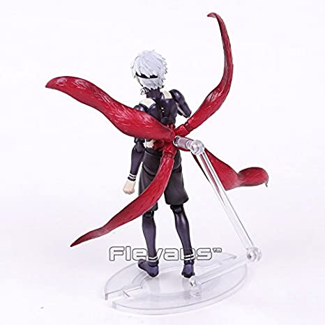 Amazon.com: Tokyo Ghoul Ken Kaneki Awakening Ver. PVC Action Figure Collectible Model Toy 16cm: Toys & Games