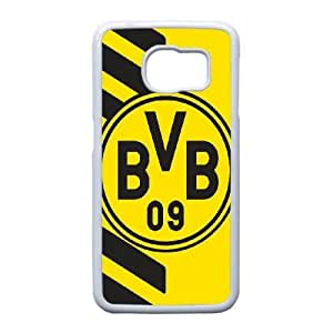 Samsung Galaxy S6 Edge Cell Phone Case White Borussia Dortmund BVB Bundesliga Football Club BVB Logo F5121475