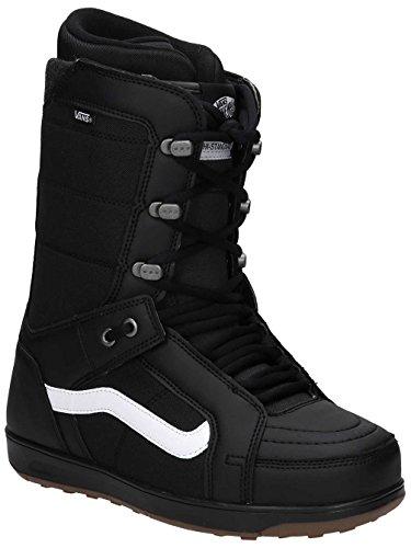 Vans Men's Hi Standard Snowboarding Boot (Black/White, 9 D(M) - Standard Snowboarding