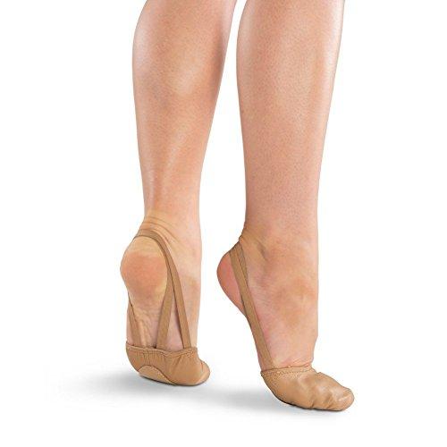 Danshuz Filles Tan Liberté Semelle Semelle En Cuir Haut Ballet Chaussures Xxs-xl Tan