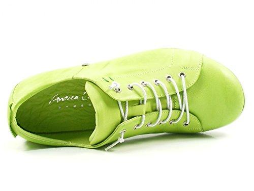 Andrea Conti 0345724 Womens Lace-Ups, Schuhgröße_1:37 EU;Farbe:Green