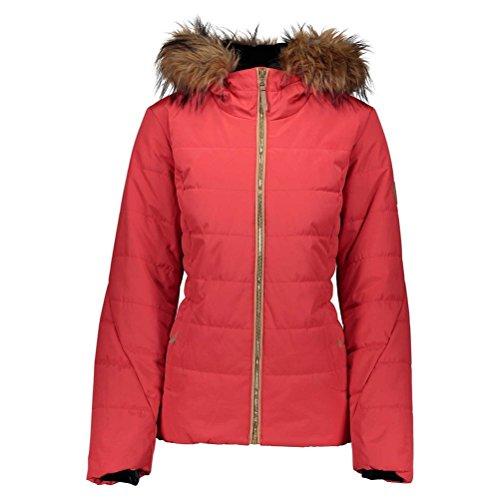 Fur Petite Womens Insulated Ski Jacket - 4p/Pop Pop Poppy ()