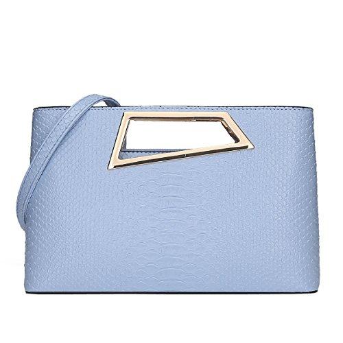 DISSA - Bolso al hombro para mujer One size Azul