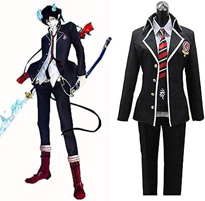 LIGHTOP Anime Blue Exorcist Ao No Exorcist Disfraz de Cosplay ...
