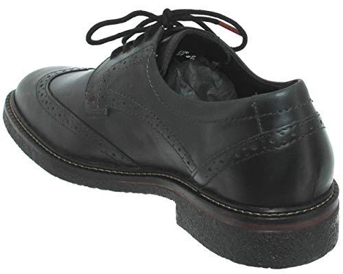 De Mephisto Zapatos Hombre Lisa Piel Cordones qZ475Z
