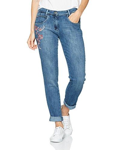montana Blue Blu Flow 25 Donna Brax Jeans embrodery Boyfriend Bx 4xUnR7ZR