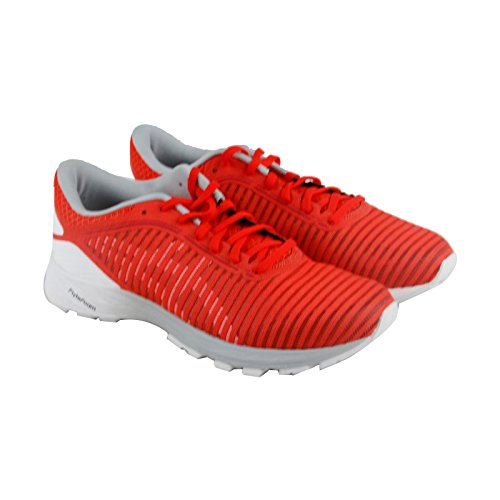 Asics Dynaflyte 2 Mens Red Mesh Athletic Lace Up Running Shoes 12.5