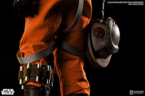 Sideshow Star Wars Episode IV A New Hope: Luke Skywalker Red-Five X-Wing Sixth Scale 12'' Action Figure Exclusive Version by Sideshow (Image #4)