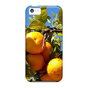 Excellent Design Oranges On The Tree Branches Case Cover For Iphone 5c