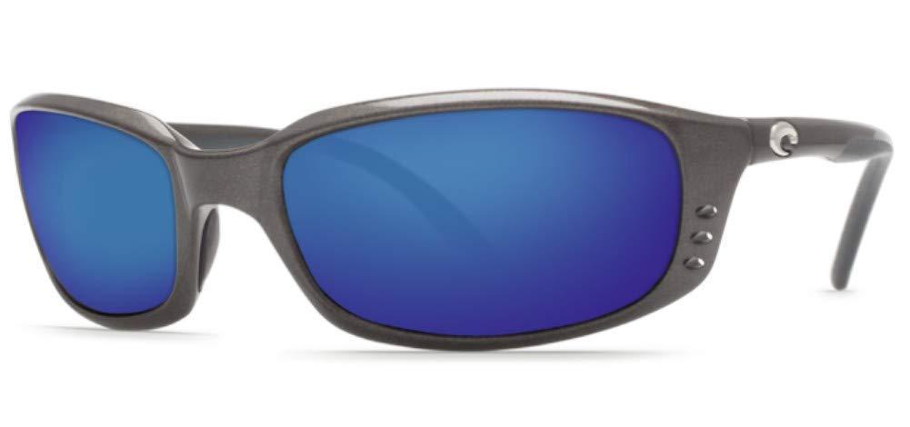 Costa Del Mar Brine Sunglasses Gunmetal/Gray 580Plastic