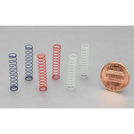 Team Losi Front Shock Spring Set (3Pr): Micro by Team Losi (Micro Shock Spring)