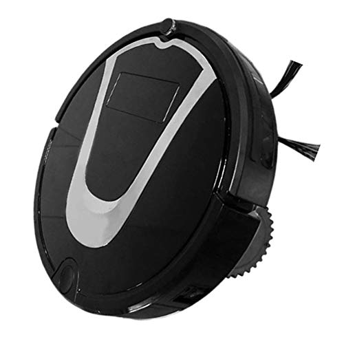 Robot Vacuum Cleaners Have Multiple Cleaning Modes, Low Battery Automatic Charging, Intelligent Infrared Sensor- Protect Furniture from Damage, Black