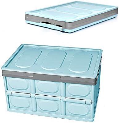 DGLIYJ Caja Almacenamiento Plegable con Tapa (30 litros) Casa ...