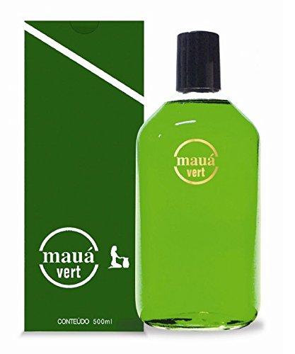 Linha Tradicional Maua - Colonia Vert Unisex 500Ml - (Maua Classic Collection - Eau De Cologne Vert For Men and Women 16.9 Fl Oz)