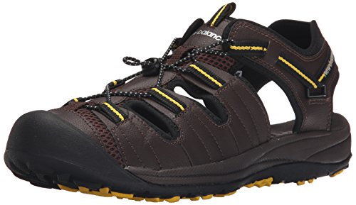 Balance New Men's Toe Closed Appalachian Sandal Brown 1wwdgA