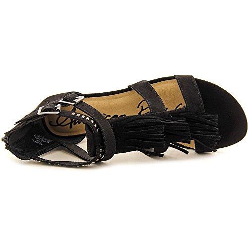 American RagLeah - Zapatos de Punta Descubierta Mujer Black
