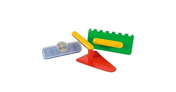 Amazon.com: Simba Toys 107129646 Herramientas de albañilería ...