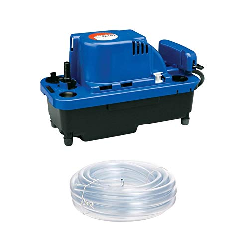 Little Giant VCMX-20ULST 554550 VCMX Series Automatic Condensate Removal Pump With Safety Switch (115 volts), 1/30 horsepower