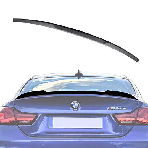 Rear Carbon Spoiler - Wisamic Carbon Fiber Spoiler for BMW F82 M4 2014-2018, Rear Lip Trunk Spoiler