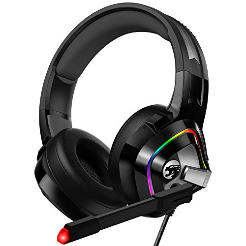 ZIUMIER Gaming Headset Xbox One Headset, PS4