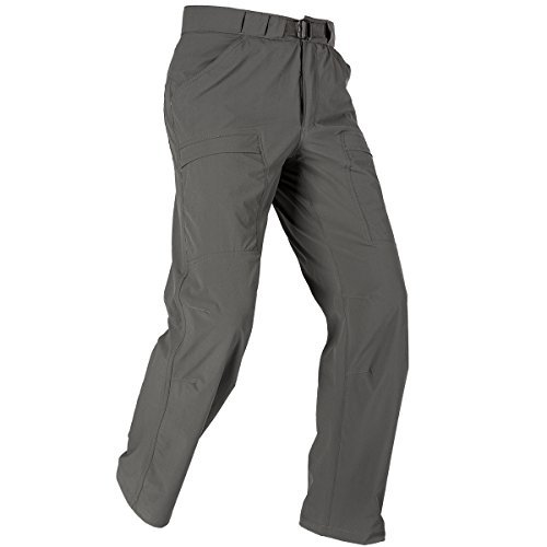 FREE SOLDIER Outdoor Men's Lightweight Waterproof Quick Dry Tactical Pants Nylon Spandex (Gray (Gray Lightweight Tactical Pants)