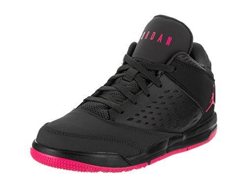 (Jordan Kids Flight Origin 4 (PS) Anthracite Deadly Pink Black Size 12)