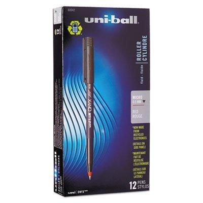 uniball onyx micro red - 9