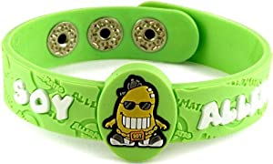 Allermates Kids Soy Allergy (Soy Cool) Wristband by aller-mates