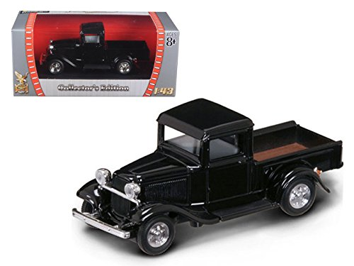 1934 Ford Pickup Truck Black 1/43 Diecast Car Model by Road Signature 94232bk