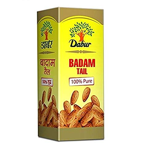Dabur Badam Tail : SweetAlmond Oil   Rich in Vitamin -E for Healthy Skin , Hair and Body – 100ml