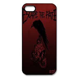 Band Escape the Fate iPhone 5/5S Case Hard Plastic Case for iPhone 5/5S