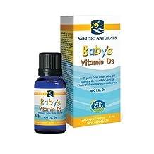 Nordic Naturals Baby's D3 Drops 400 i.u. 4 ml (120 drops)