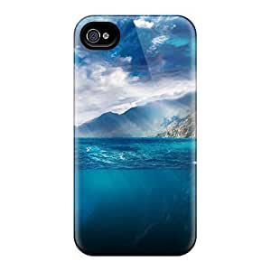 Saraumes NrsCBpU2345PHTJS Case Cover Skin For Iphone 4/4s (iceberg In Nature)