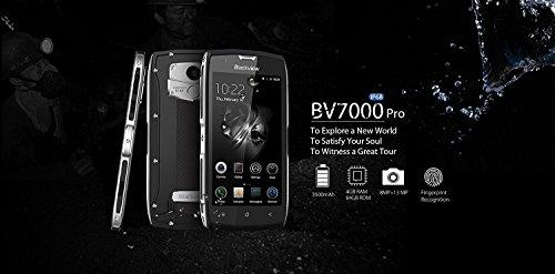 Blackview BV7000 PRO 4G Móvil de 5 Pulgadas Smartphone Impermeable IP68 a Prueba de Choque y de Polvo Teléfono móvil de Android 6.0 Octa-core 4GB RAM ...