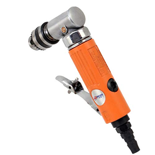 Flameer 1/4 Inch Air-Powered Angle Drill for Milling Cutter Processing, 7004L&7005L - 7005L by Flameer (Image #4)