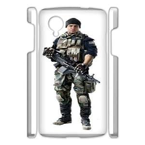 Diy Phone Cover Soldier for Google Nexus 5 WER348771