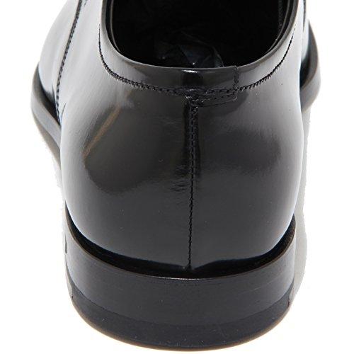 9575I scarpe uomo PRADA scarpa shoes men Nero